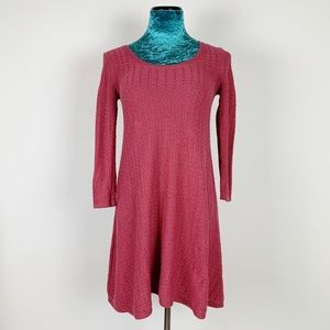American Eagle 3/4 Sleeve Knit Sweater Dress